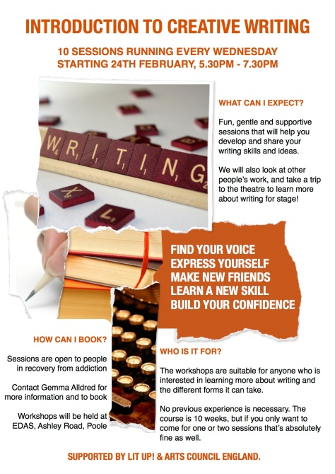 Intro to Creative Writing Poster_Gemma Contact_EDAS_FEB_2016