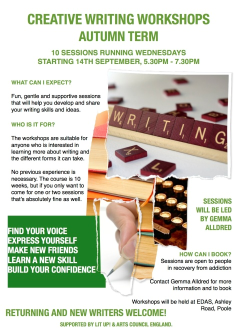 Contact Gemma_Creative Writing Poster_EDAS_July_2016